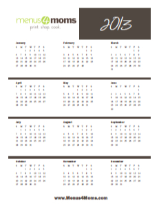 2007-09 yearly calendar