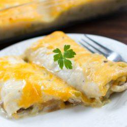 Easy Frozen Burrito Casserole