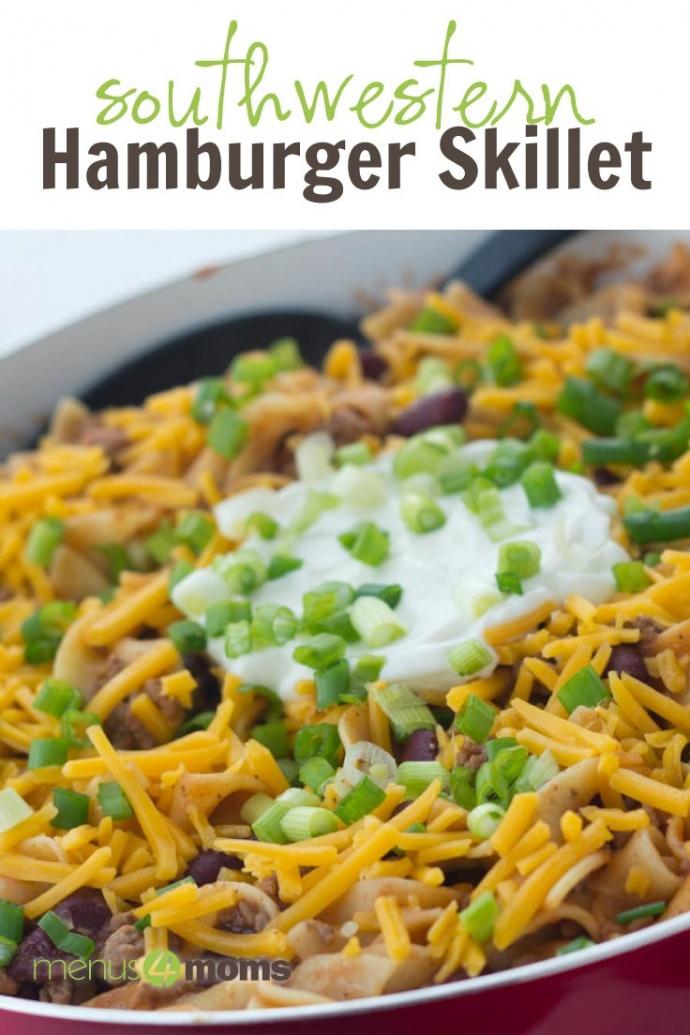 Southwestern Hamburger Skillet