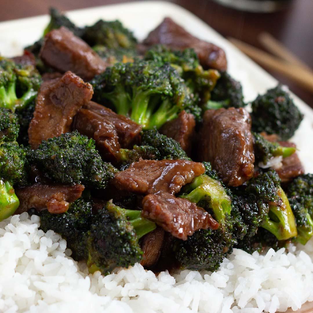 Easy Beef And Broccoli Using Leftover Steak Add Salt Serve