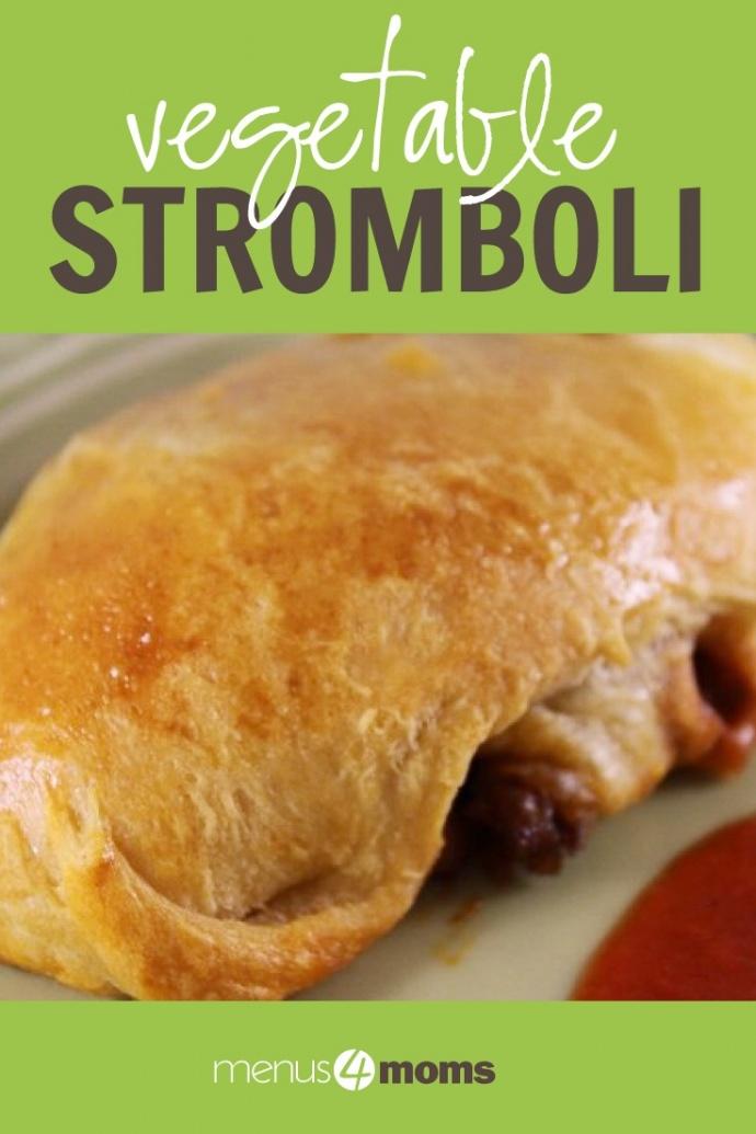 Vegetable Stromboli