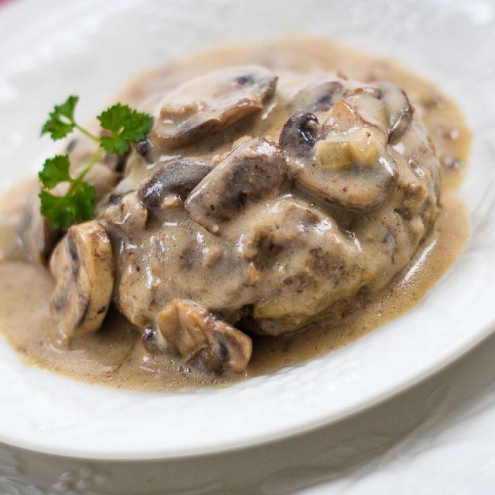 Mushroom Salisbury Steak