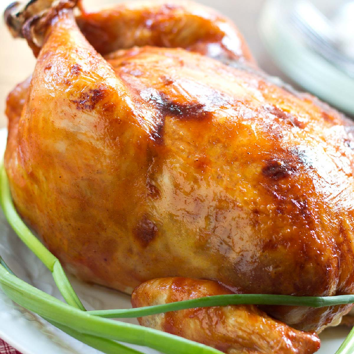 Barbecue Roasted Chicken