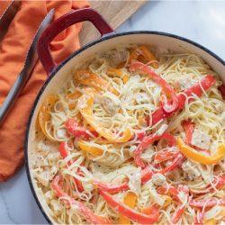 Chicken Pepper Pasta