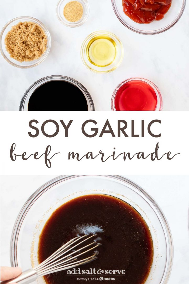 Soy Garlic Beef Marinade