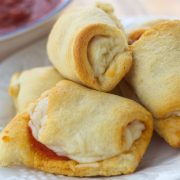 Pepperoni and Cheese Crescent rolls