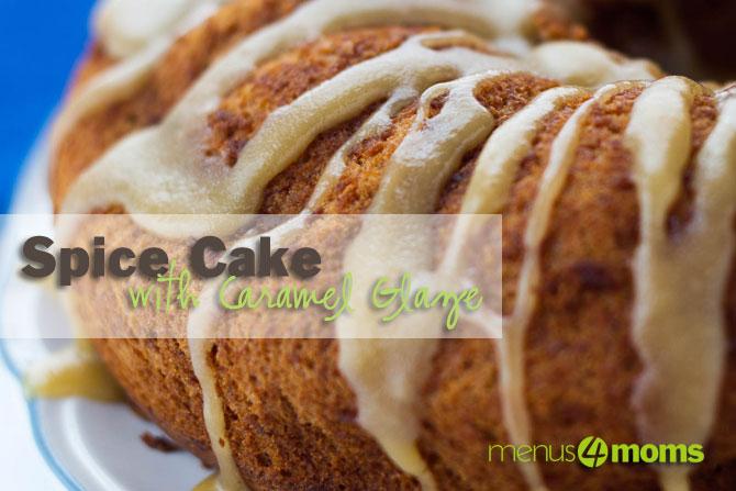 Add Salt & Serve: Spice Cake with Caramel Glaze