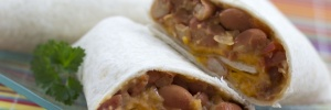 Menus4Moms: Vegetable Burrito Recipe