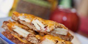 Menus4Moms Apple Cheese Sunflower Sandwich