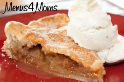 Menus4Moms Apple Pie