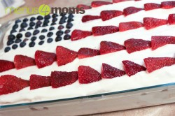 cake prepared angel food cake, sliced 2 cups whipped cream 1 pint ...