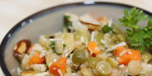 Menus4Moms: Mediterranean Lentil Salad